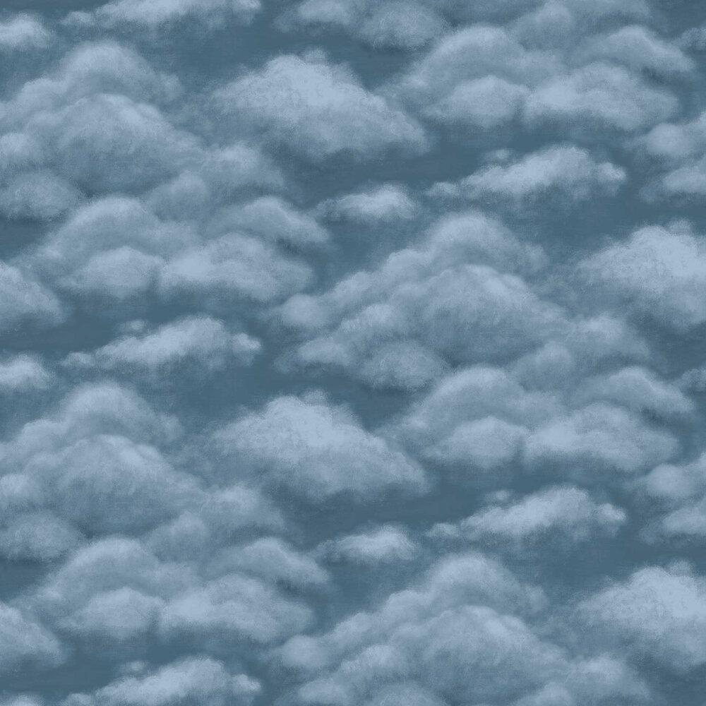 Fresco Sky Wallpaper - Midnight - by Cole & Son