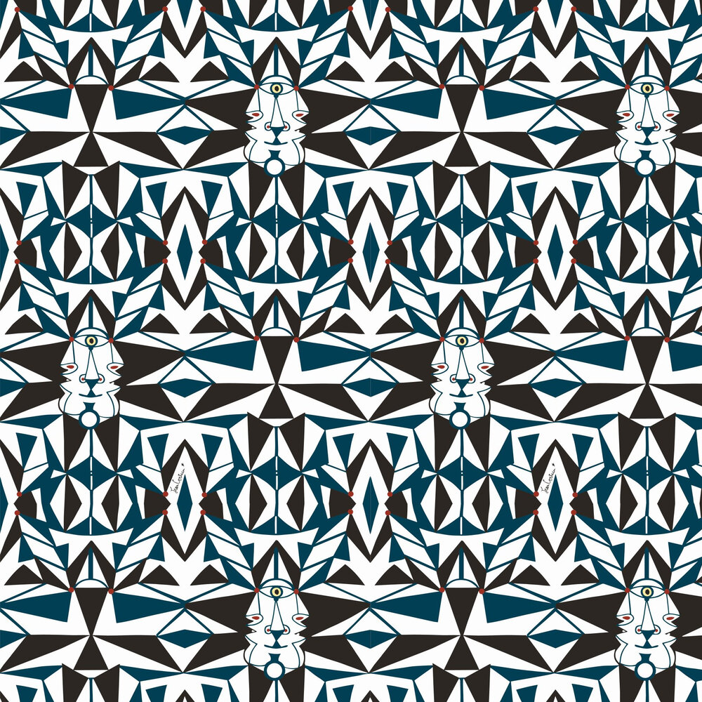 Email                                   Wallpaper - Bleu - by Lelievre