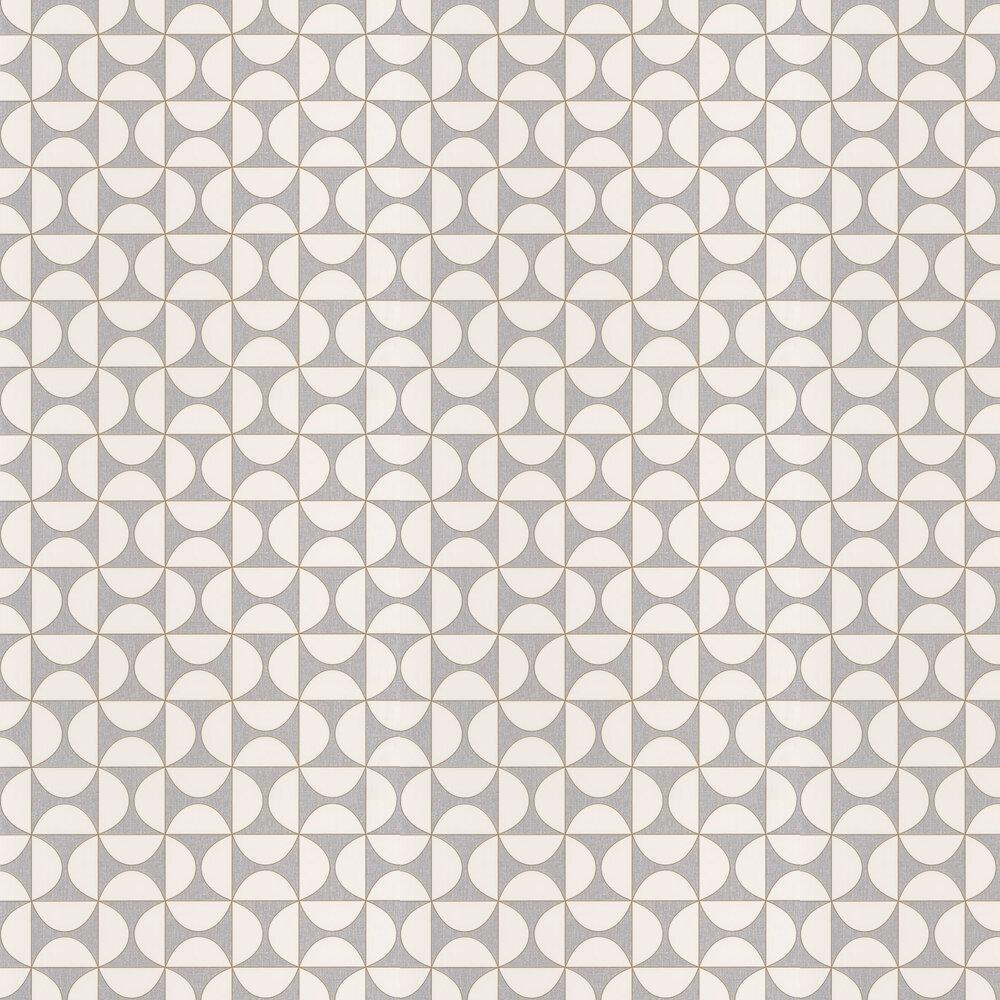 Tam Tam Wallpaper - Grey - by Caselio