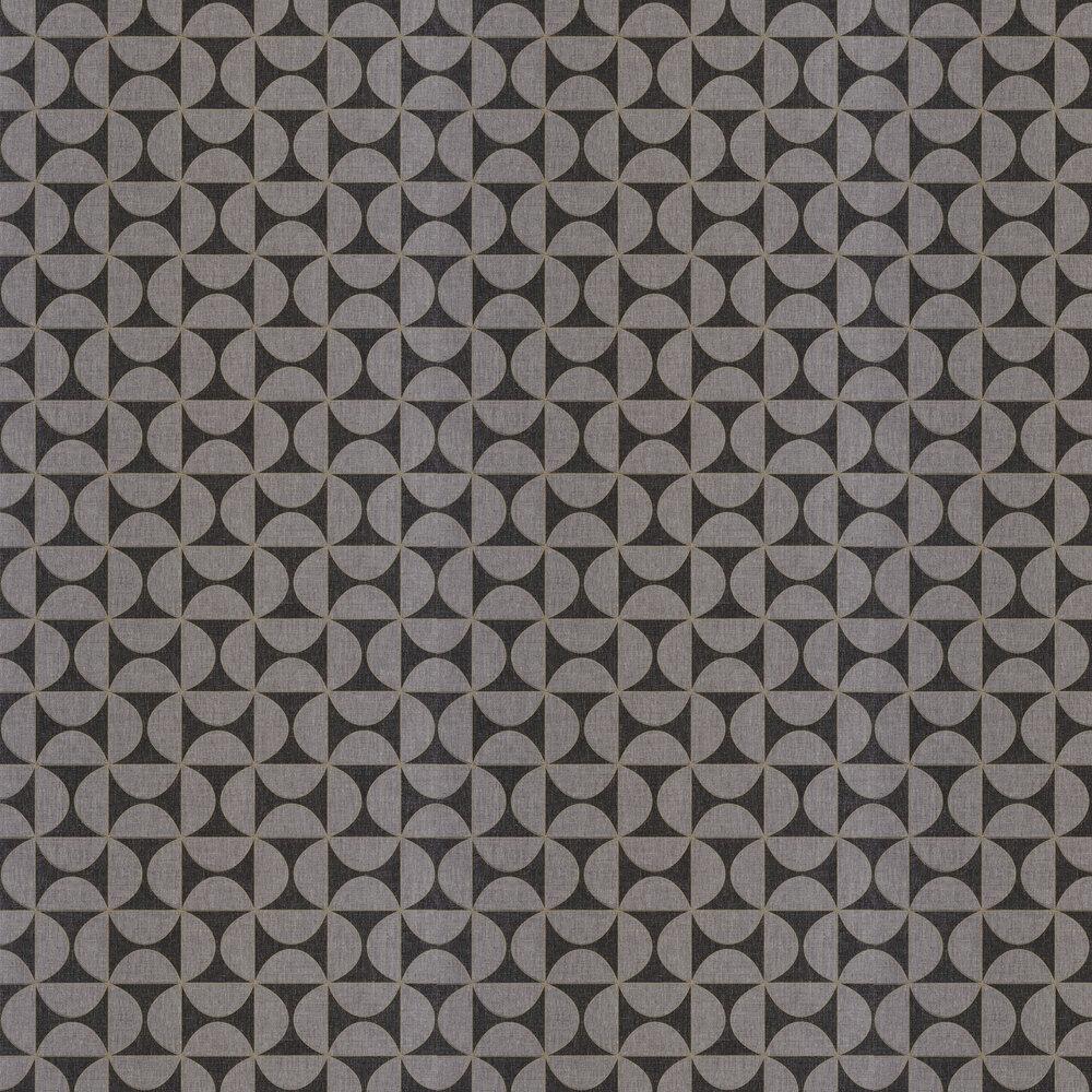 Tam Tam Wallpaper - Slate - by Caselio