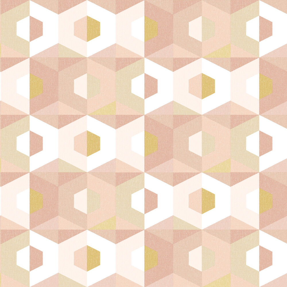 Pop Wallpaper - Blush - by Caselio