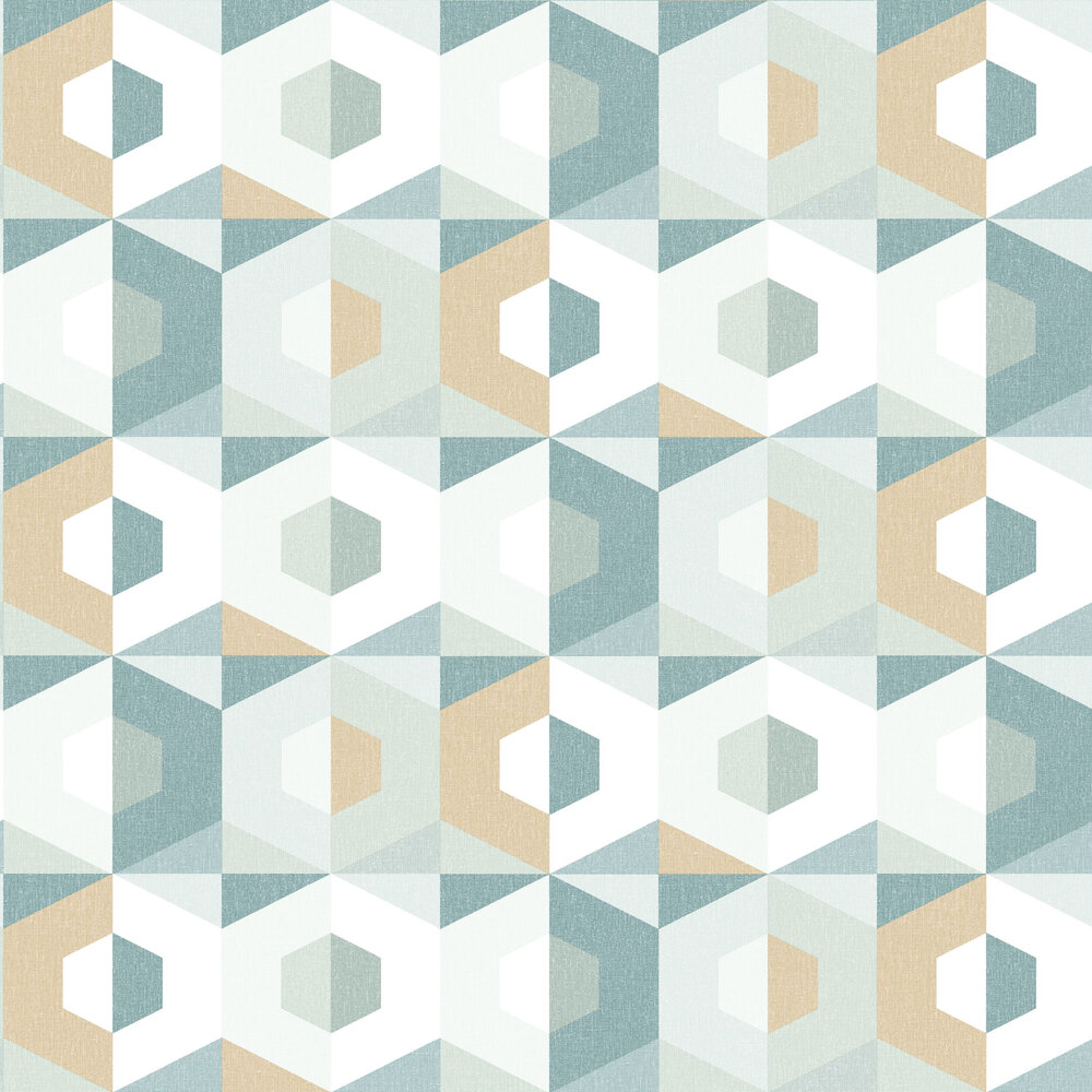 Pop Wallpaper - Aqua - by Caselio