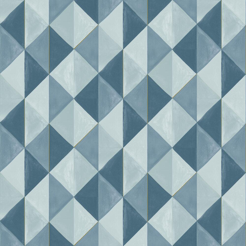 Plentitude Wallpaper - Aqua - by Caselio