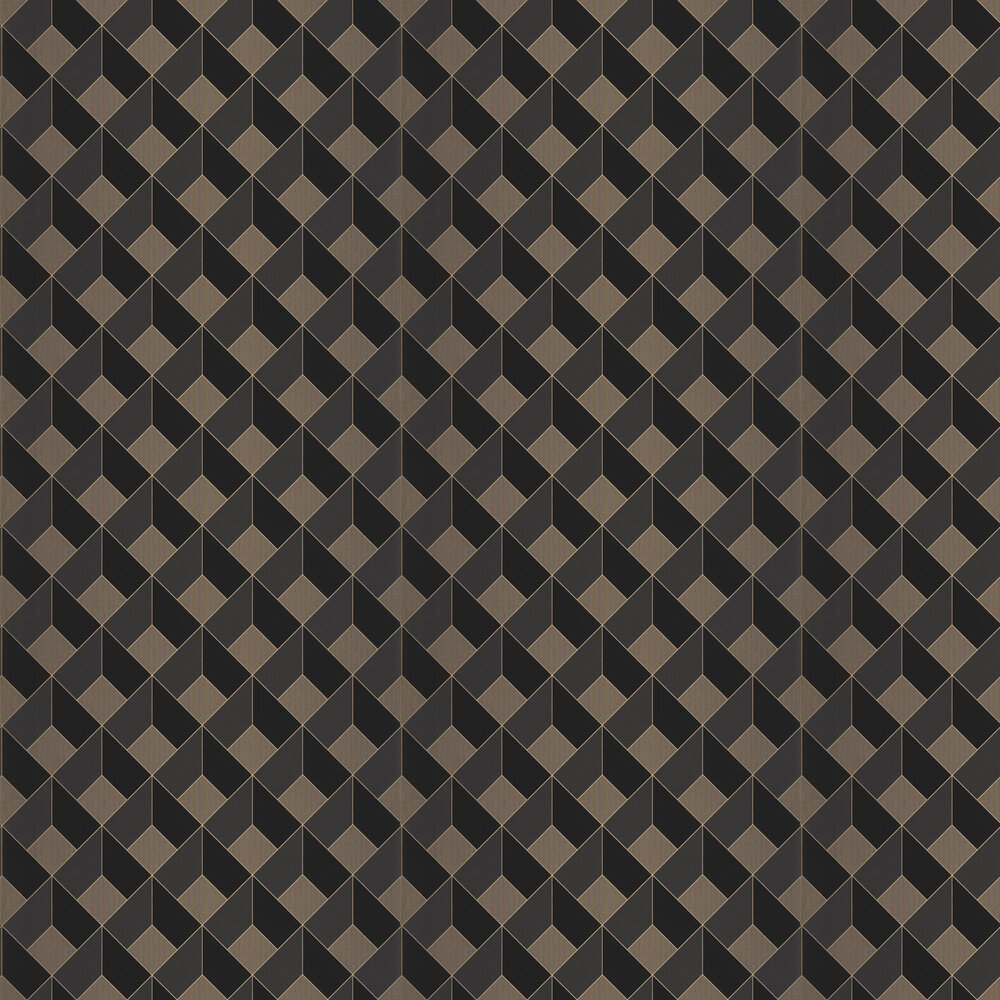 Square Wallpaper - Charcoal - by Caselio