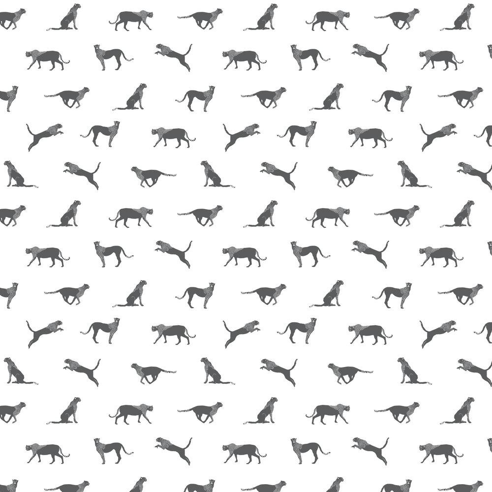 Wild Forest Wallpaper - White - by Caselio