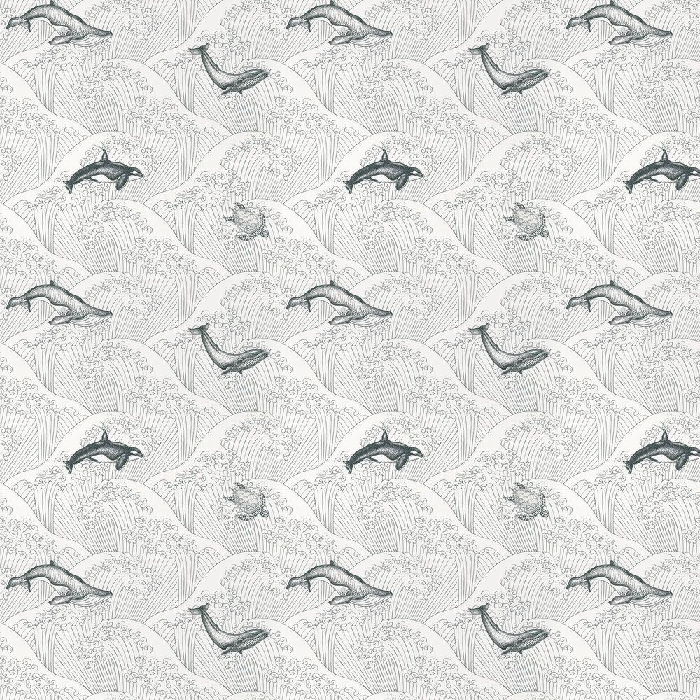 Under The Sea Wallpaper - White - by Caselio