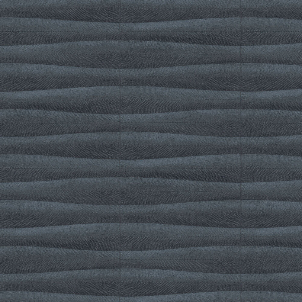 Scales Wallpaper - Charcoal - by Albany