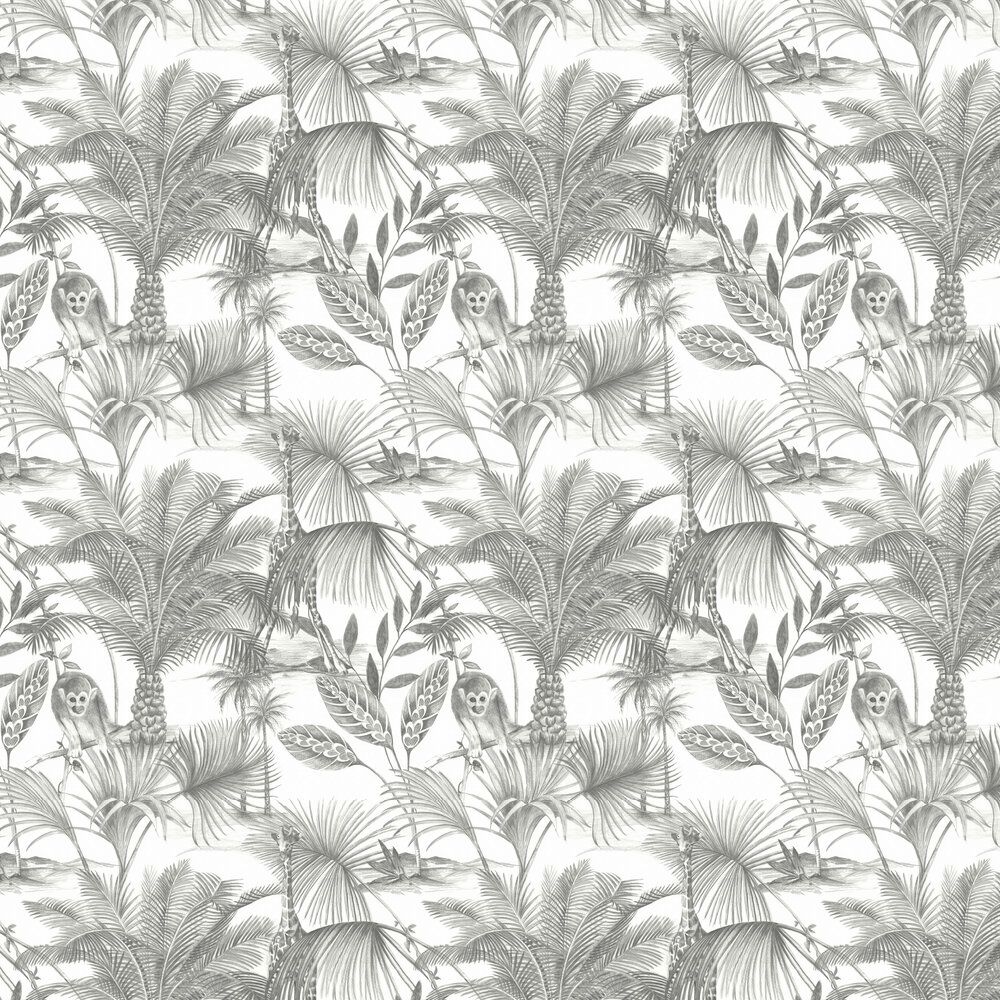 Kidatu Wallpaper - Mono  - by Albany