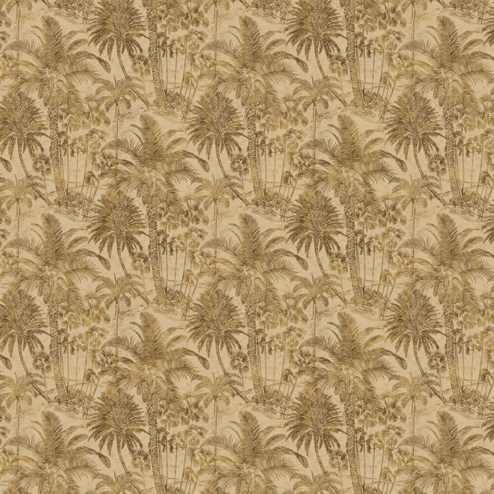 Rustic Jungle Wallpaper - Brown - by Albany