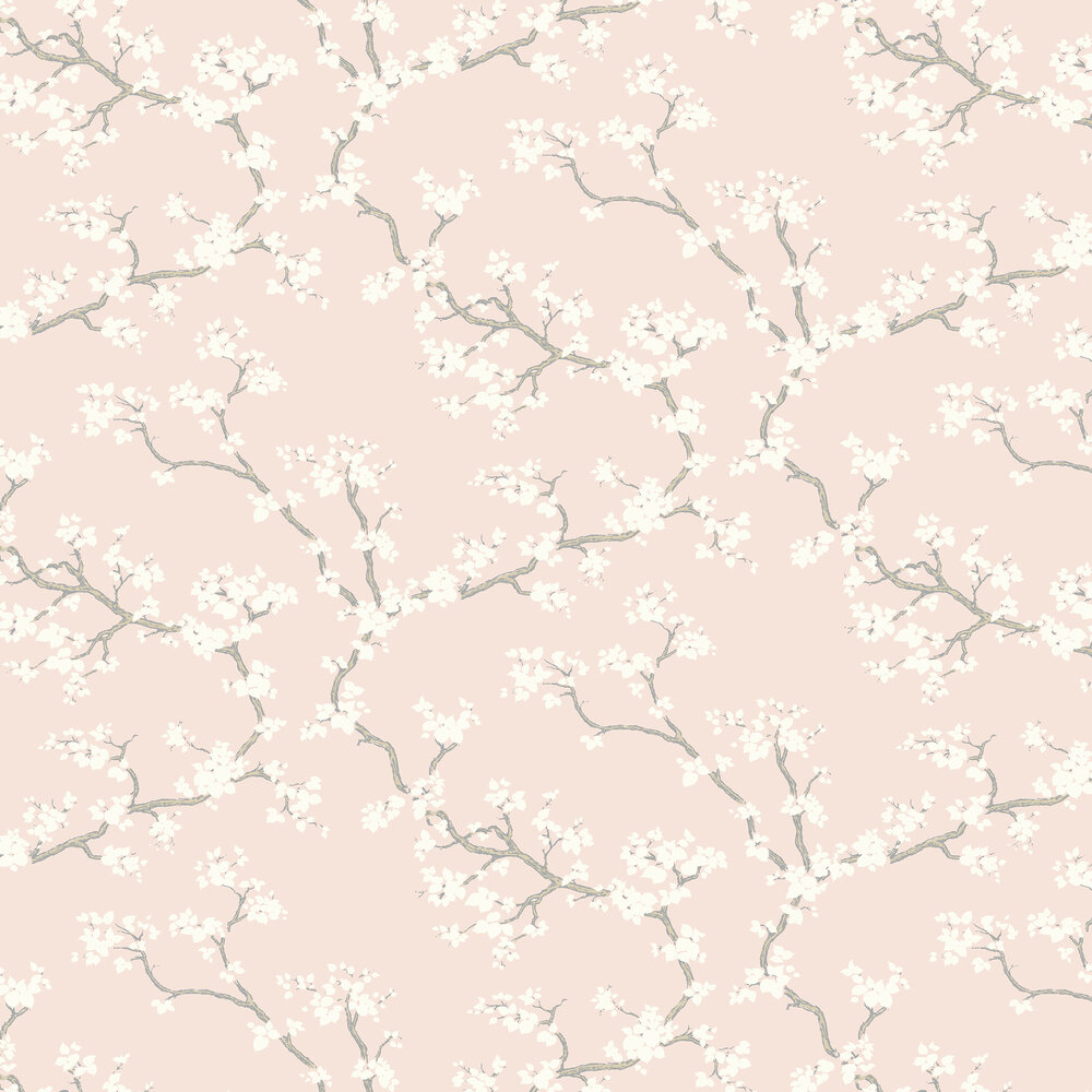 Branches Wallpaper - Blush - by Florence Broadhurst