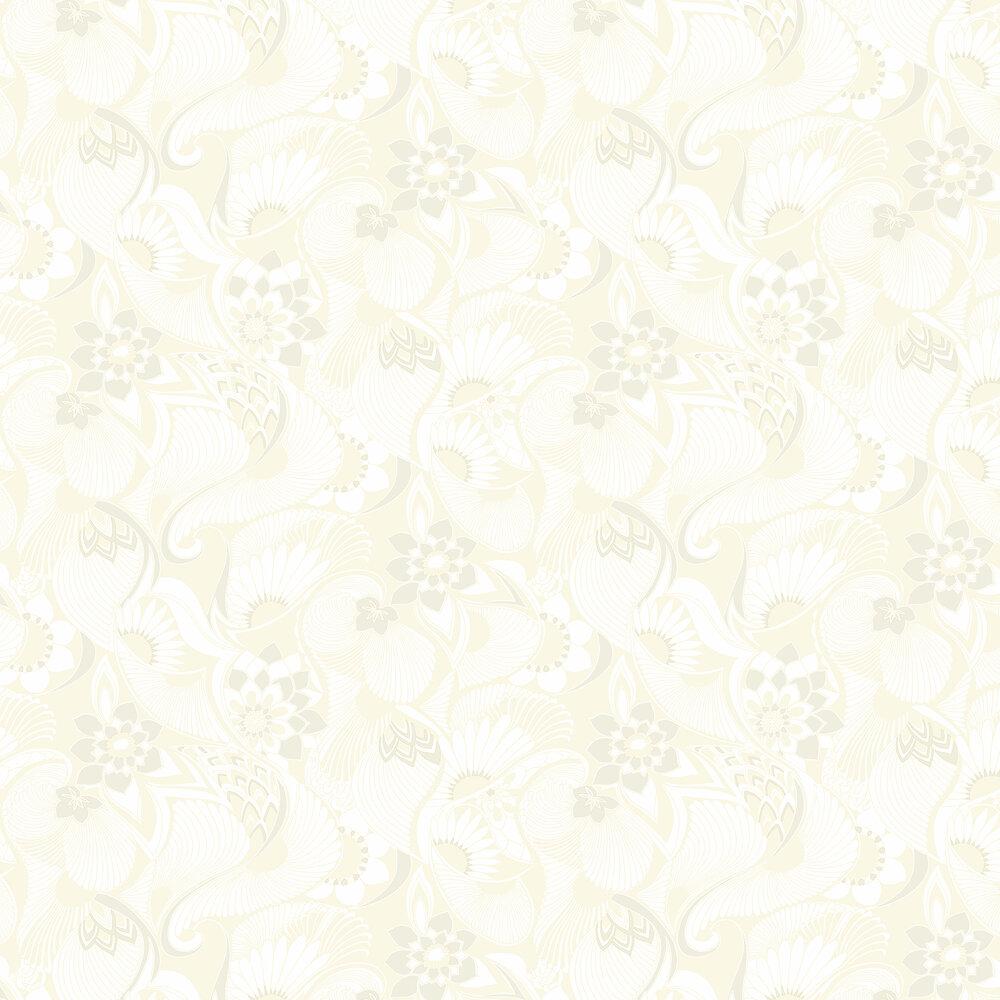 Aubrey Wallpaper - Pearl - by Florence Broadhurst
