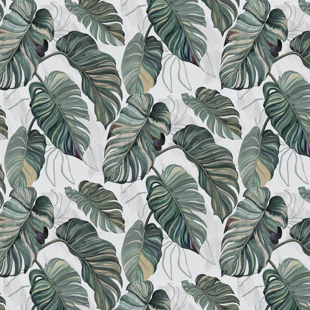 Carioca Wallpaper - Grey - by Coordonne