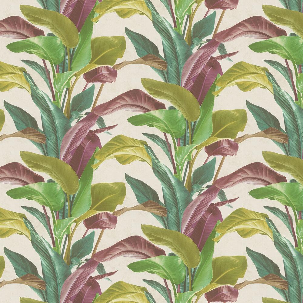 Bold Leaves Wallpaper - Multi - by Metropolitan Stories