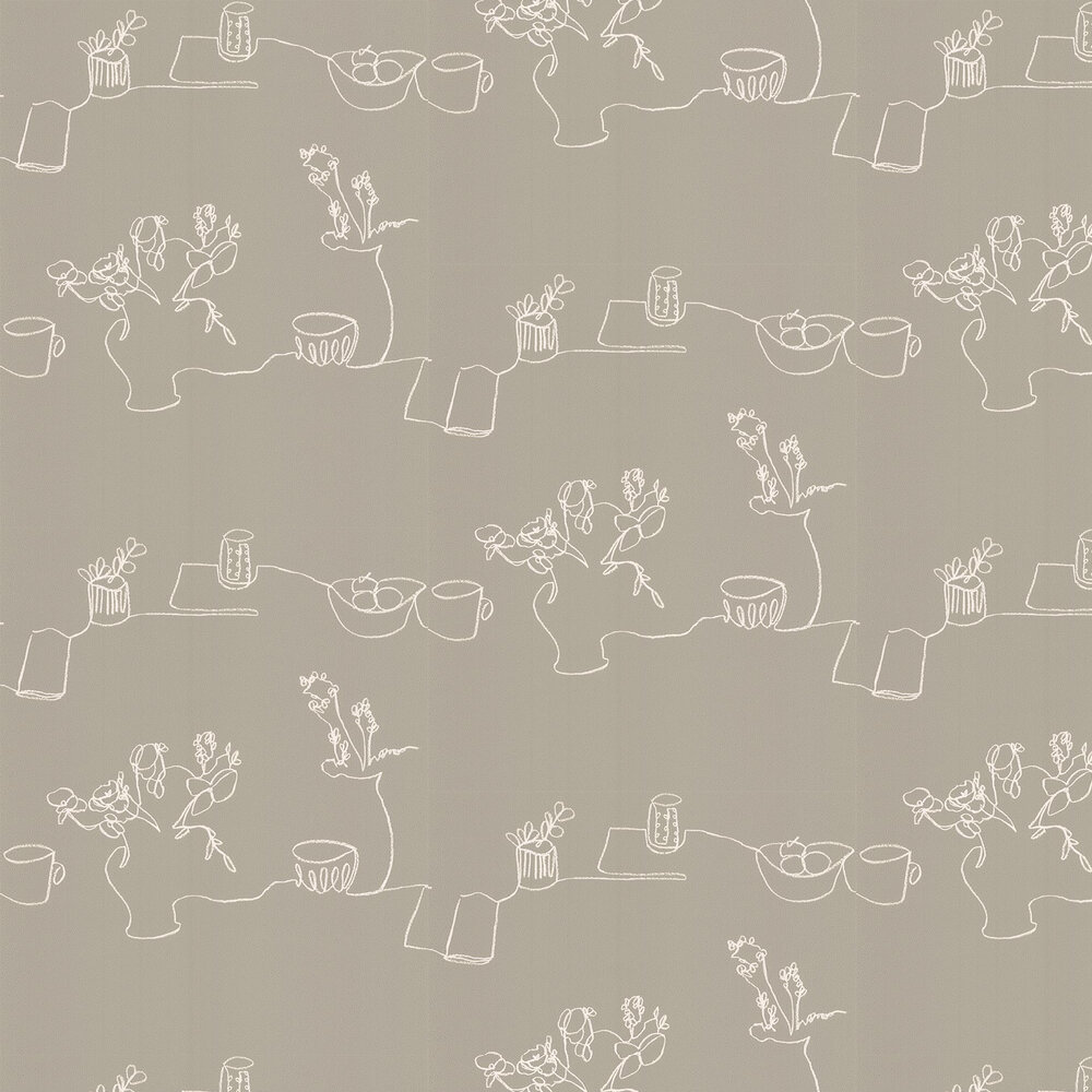 Tabletop Wallpaper - Lichen - by Villa Nova
