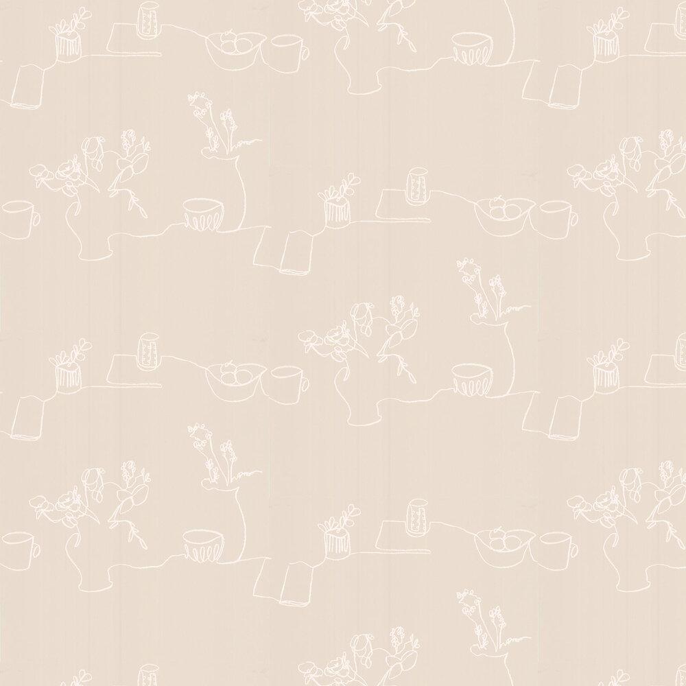 Tabletop Wallpaper - Jasmine - by Villa Nova