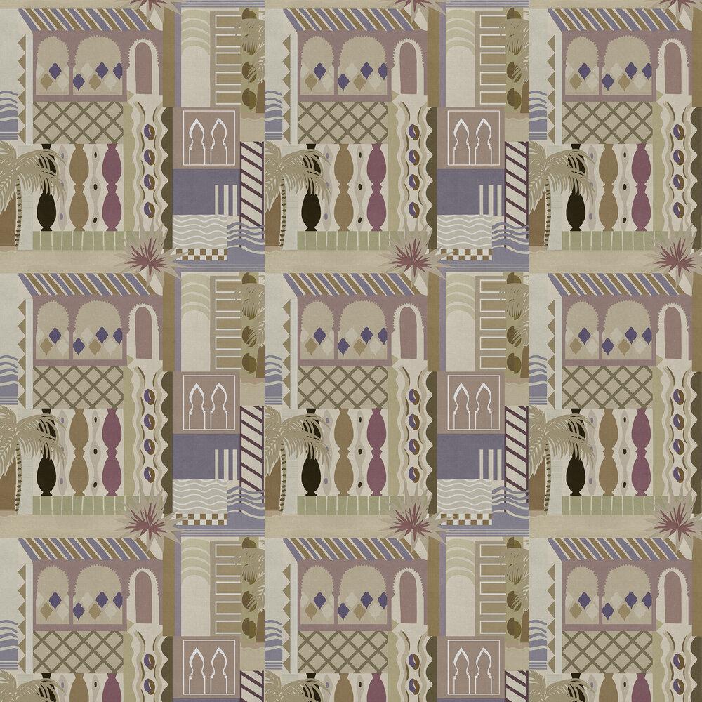 Majorelle Wallpaper - Sand - by Coordonne