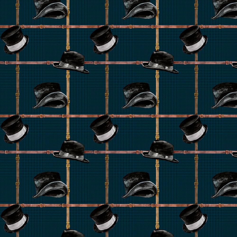 Ascot Wallpaper - Noir - by Coordonne