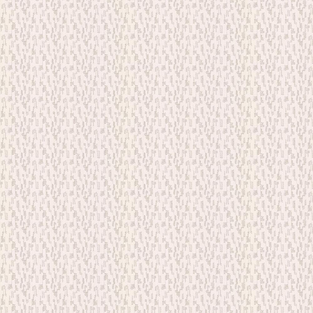 Broderie Wallpaper - Birch - by Villa Nova