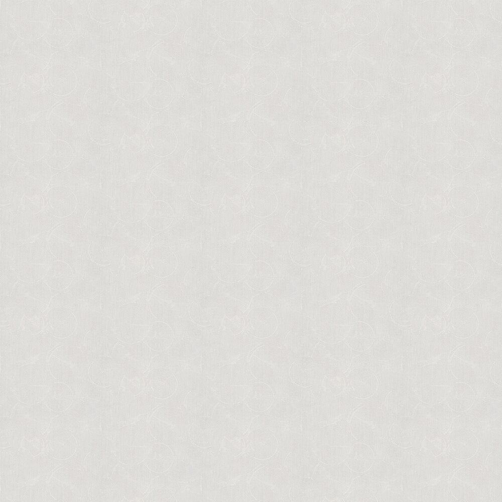 Skimmed Wallpaper - Light Grey - by Metropolitan Stories