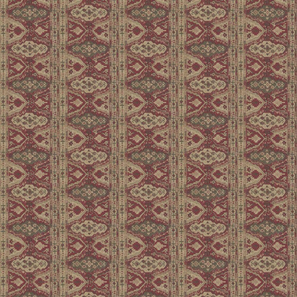 Tapestry Wallpaper - Red - by Metropolitan Stories