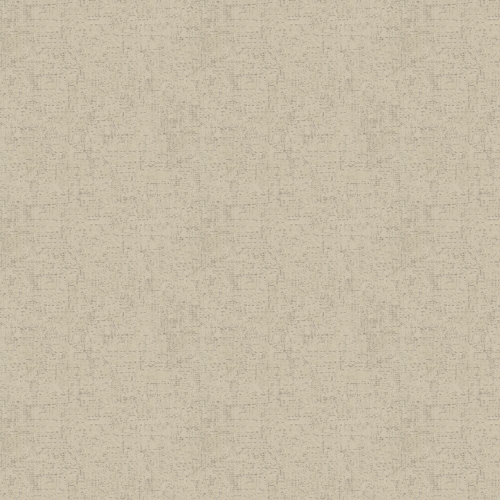 Rustic Weave Wallpaper - Beige - by Metropolitan Stories