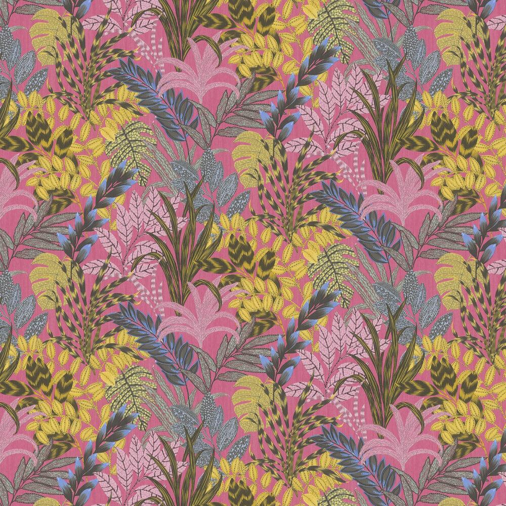 Tropicana Wallpaper - Pink - by Metropolitan Stories