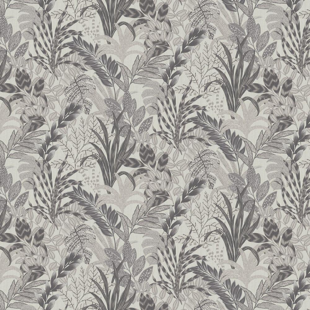 Tropicana Wallpaper - Grey - by Metropolitan Stories