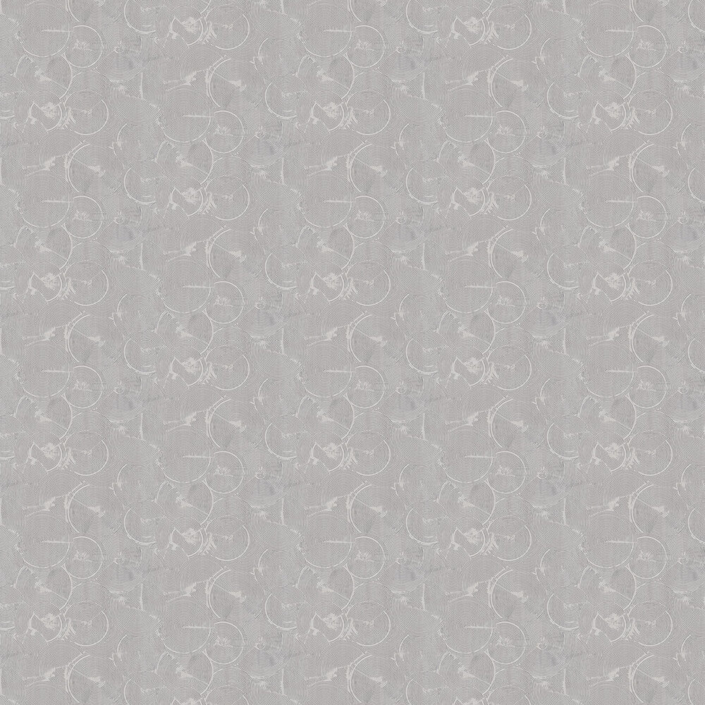 Skimmed Wallpaper - Grey - by Metropolitan Stories