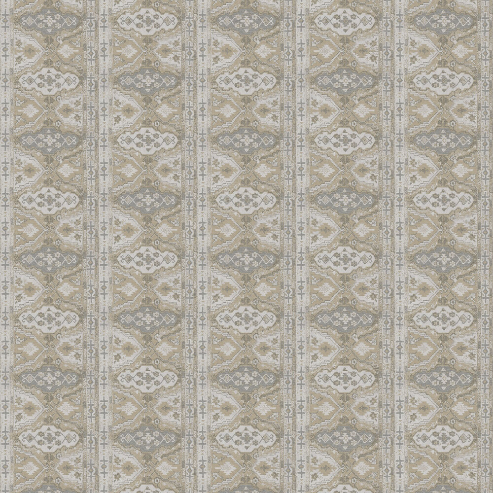 Tapestry Wallpaper - Taupe - by Metropolitan Stories
