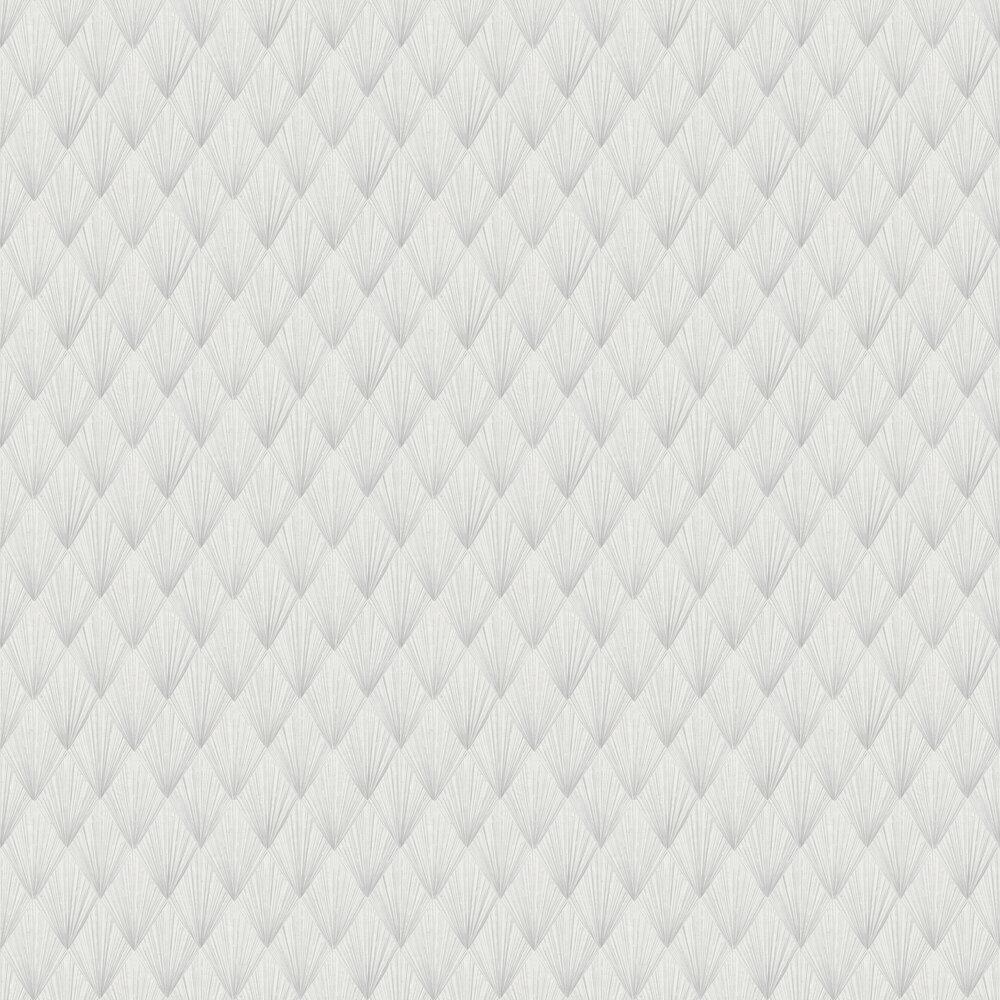Deco Wallpaper - Grey - by Metropolitan Stories