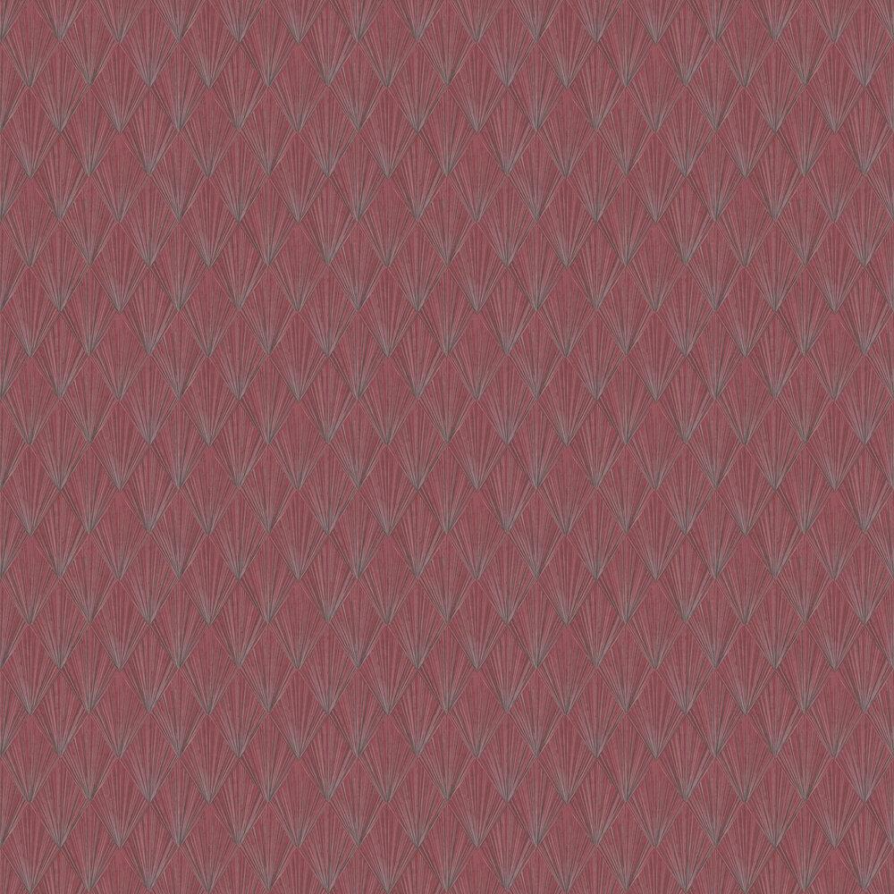 Deco Wallpaper - Red - by Metropolitan Stories