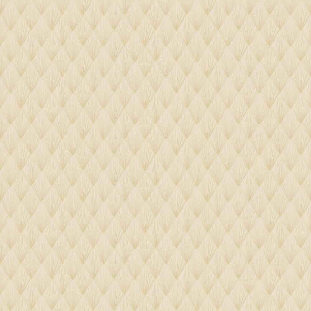 Deco Wallpaper - Yellow - by Metropolitan Stories