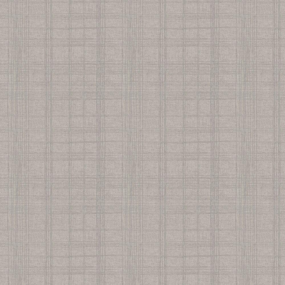 Checkered Wallpaper - Beige - by Metropolitan Stories