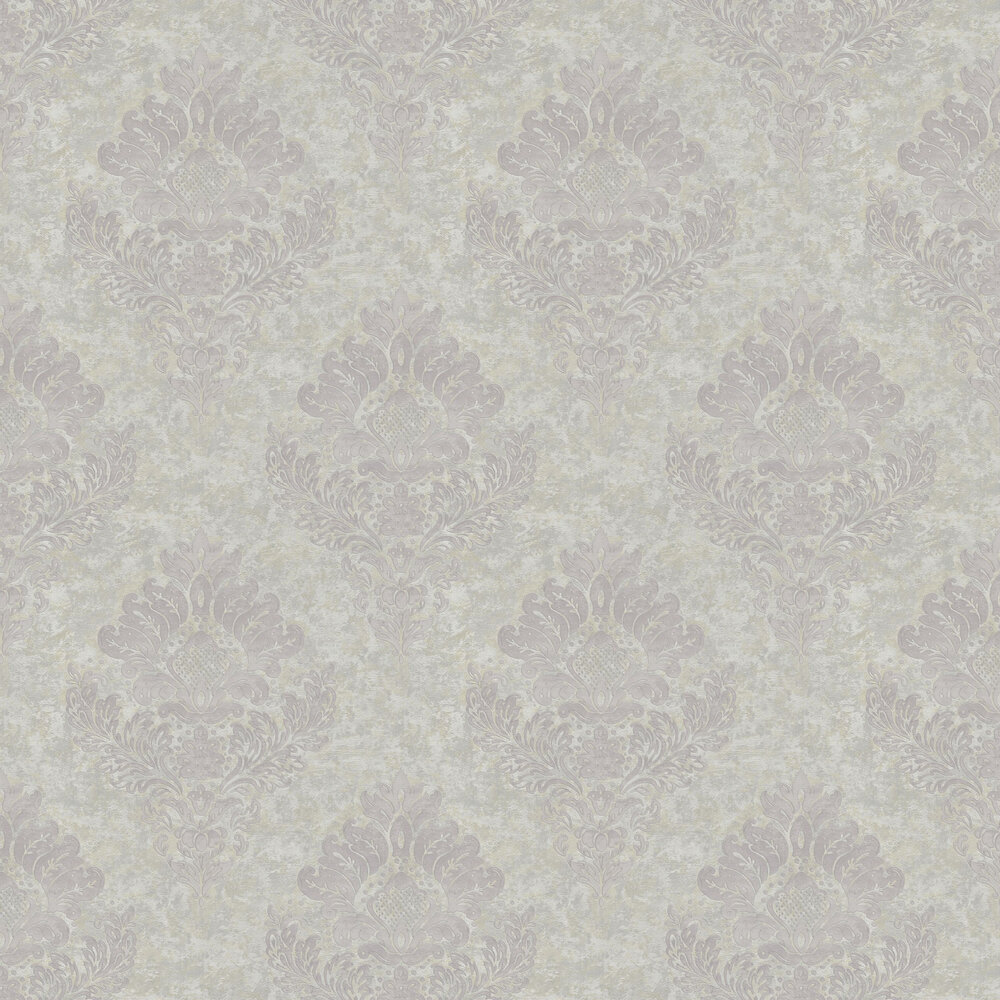 Damask Wallpaper - Grey - by Metropolitan Stories