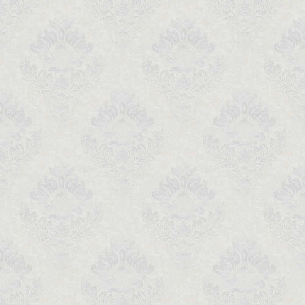 Damask Wallpaper - Ivory - by Metropolitan Stories