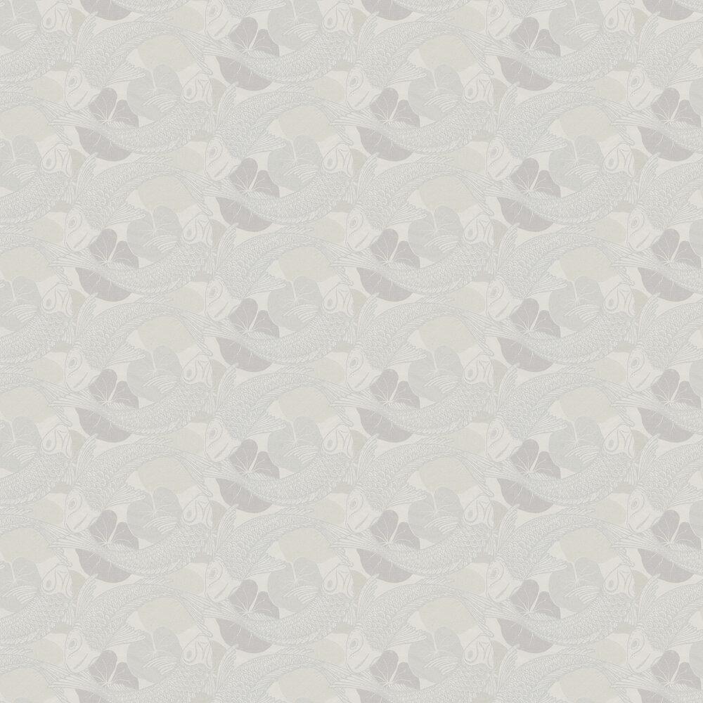 Coy Wallpaper - Ivory - by Metropolitan Stories