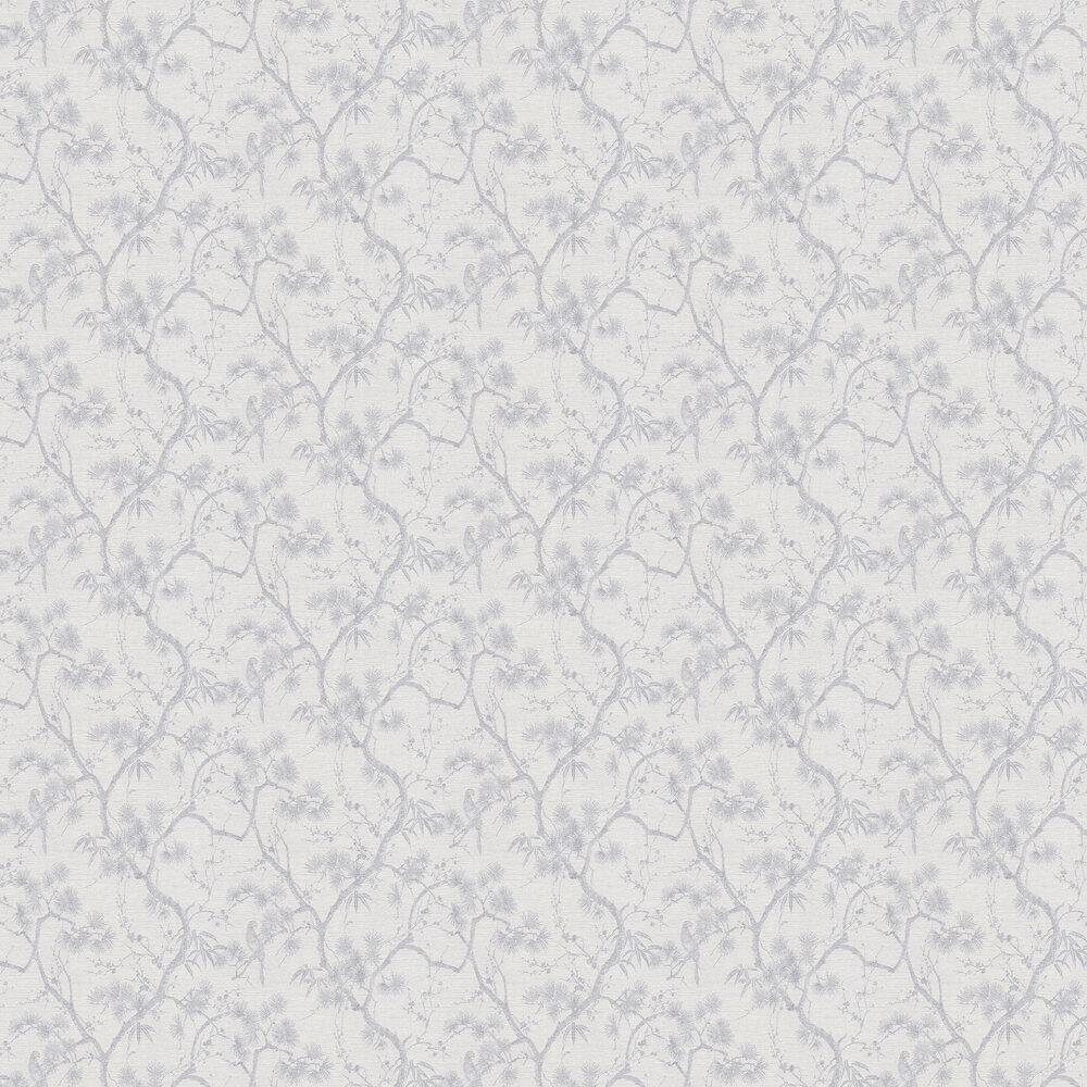 Treetop Wallpaper - Light Grey - by Metropolitan Stories