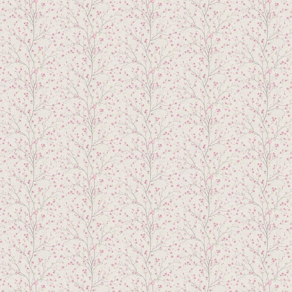 Blossom Wallpaper - Blush - by Metropolitan Stories