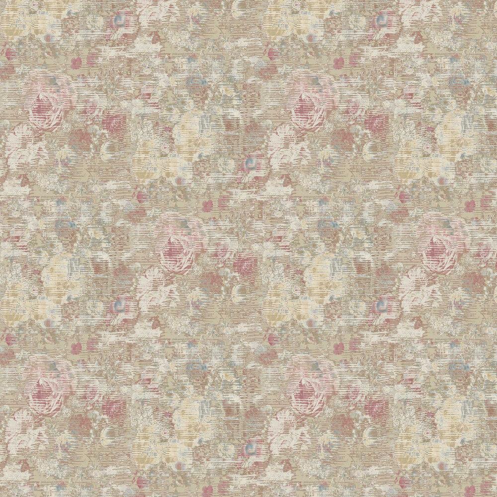 Beryl Wallpaper - Oyster - by Elizabeth Ockford