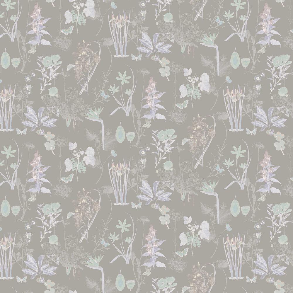 Marianne Wallpaper - Lavender - by Elizabeth Ockford