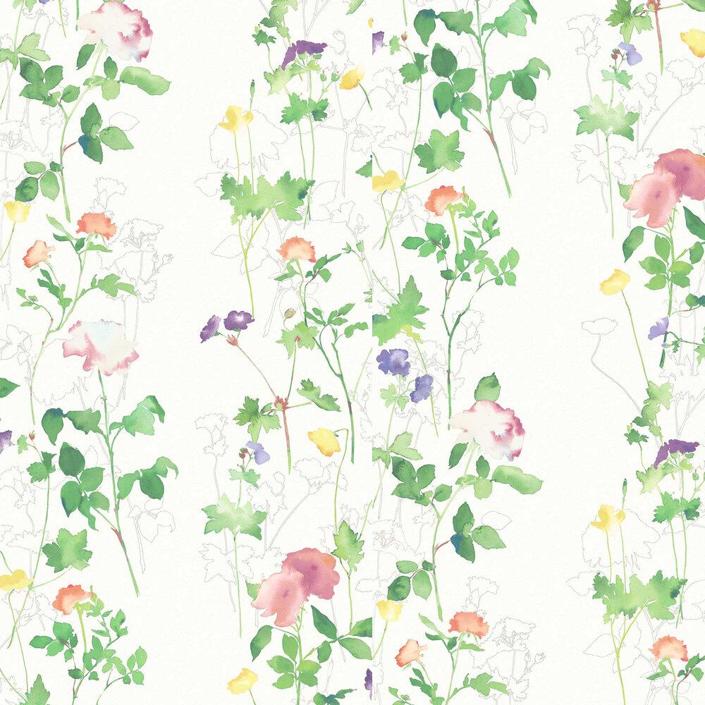 Eleanor Wallpaper - Botany - by Elizabeth Ockford