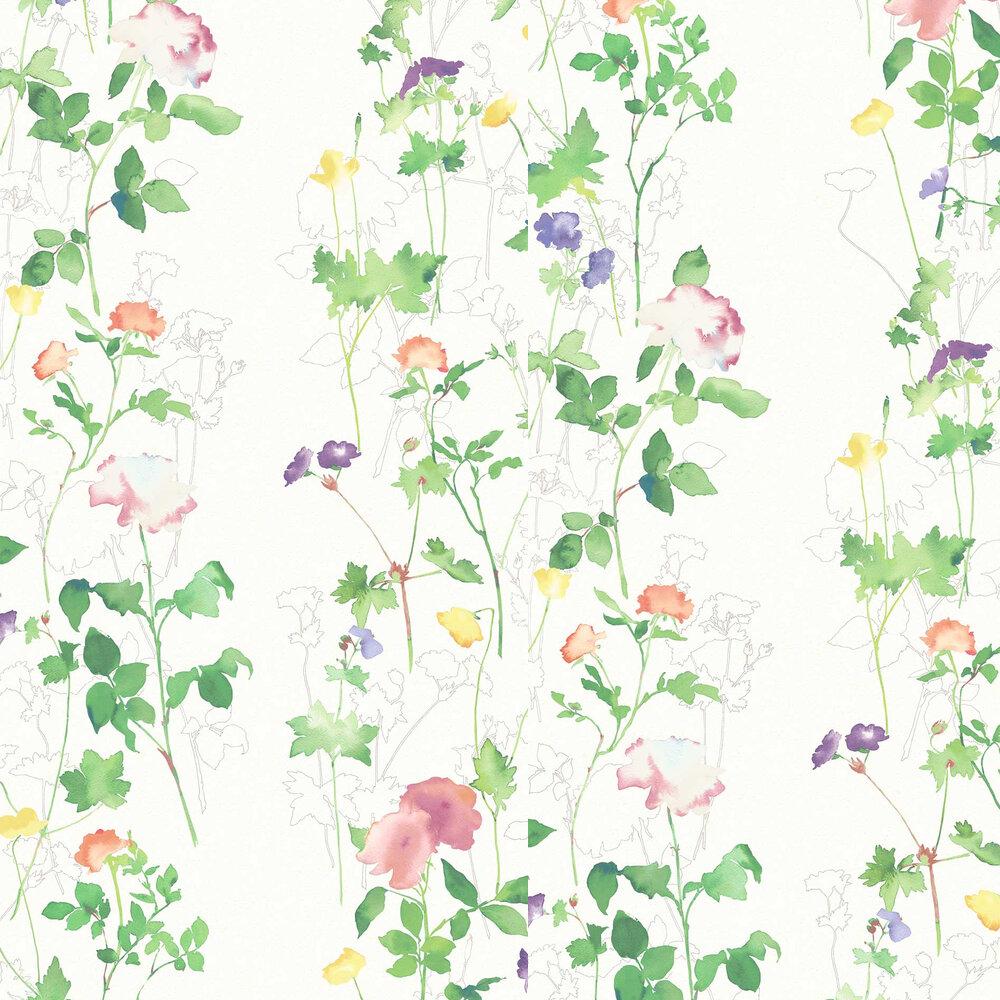 Eleanor Wallpaper - Autumn - by Elizabeth Ockford