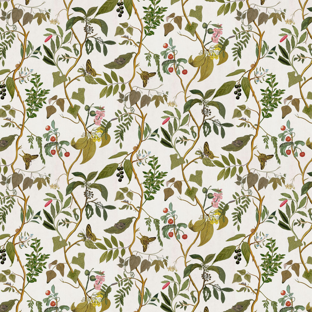 Diderot Wallpaper - Swan - by Coordonne