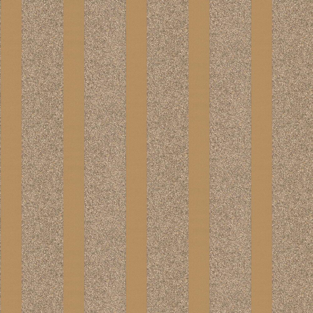 Massima Stripe Wallpaper - Gold - by Albany
