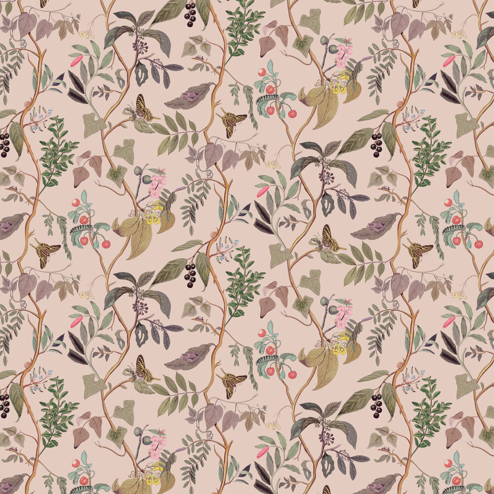 Diderot Wallpaper - Nude - by Coordonne