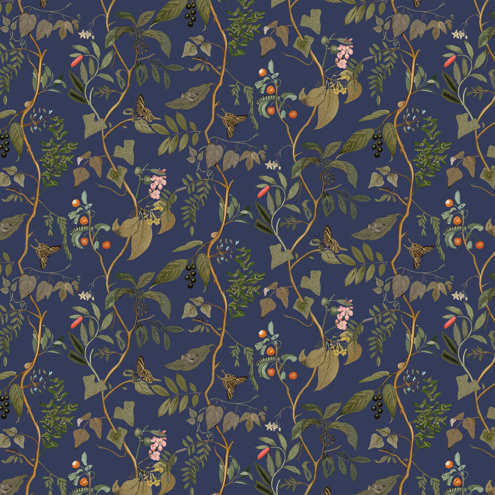 Diderot Wallpaper - Topaz - by Coordonne