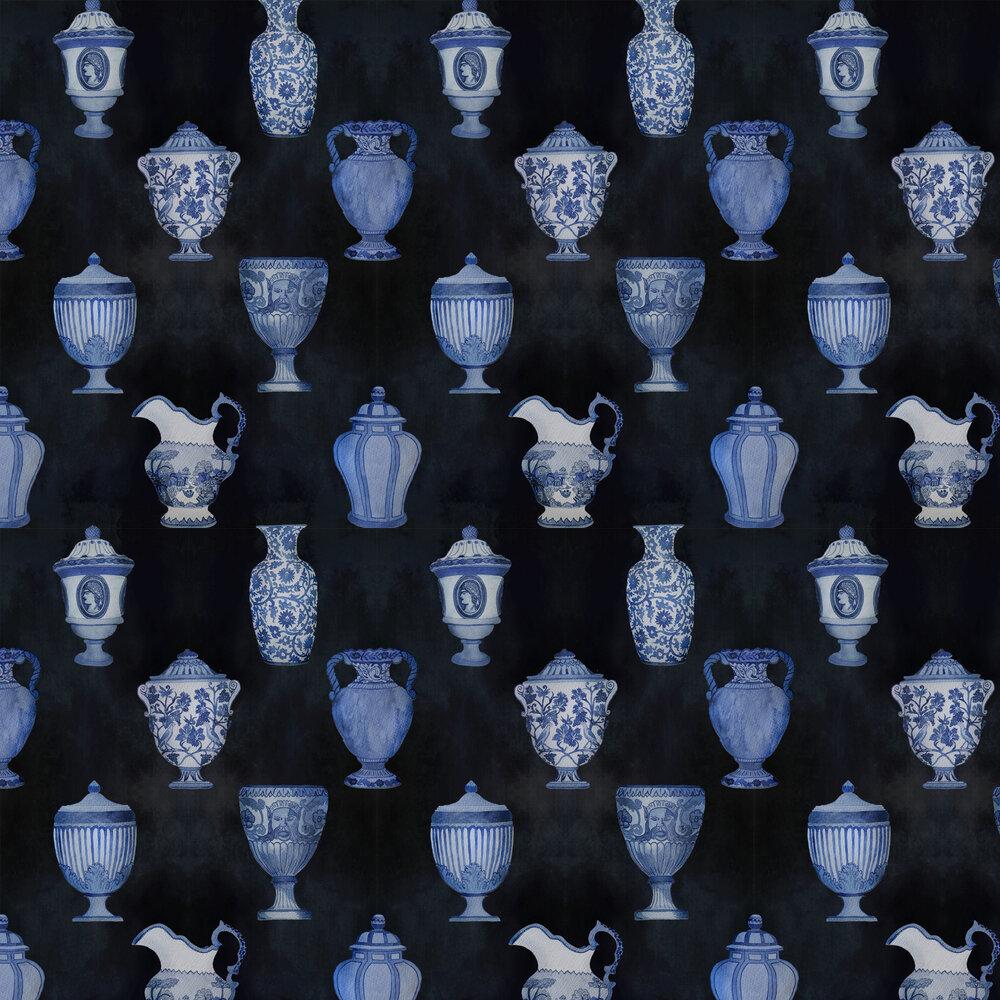 Porcelaine Wallpaper - Marine - by Coordonne