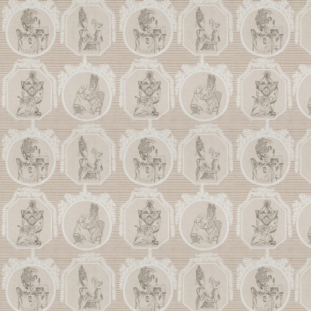 Théâtre Wallpaper - Nude - by Coordonne