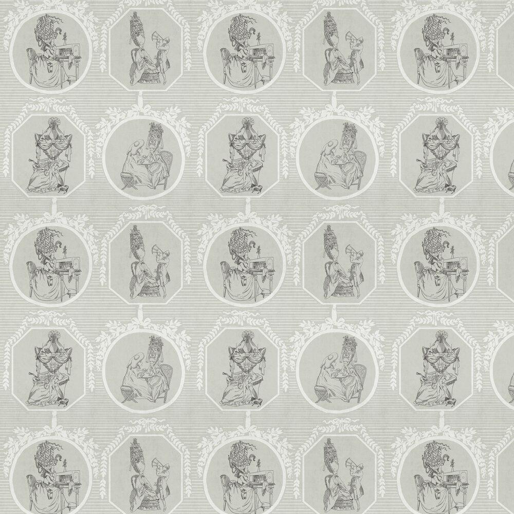 Théâtre Wallpaper - Ivory - by Coordonne