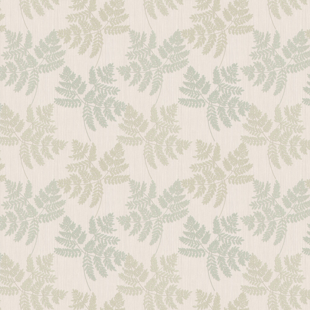 Amara Leaf Wallpaper - Green - by Albany